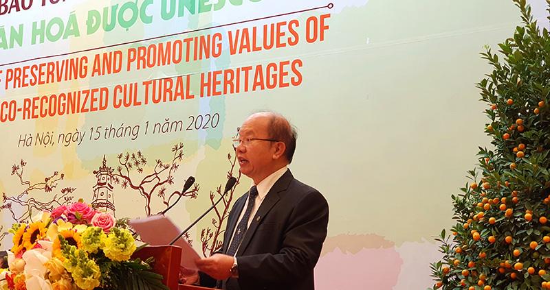 Bảo tồn và phát huy ý nghĩa của các di sản văn hóa UNESCO - Ảnh 1.