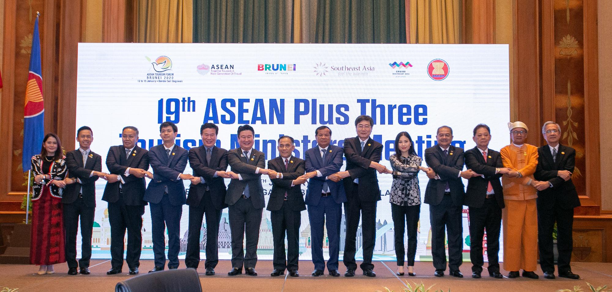 Hội nghị Bộ trưởng Du lịch ASEAN 3 lần thứ 19 tại Brunei Darussalam - Ảnh 1.