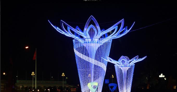 Trao 12 giải trang trí chiếu sáng thành phố Hà Nội - Ảnh 1.
