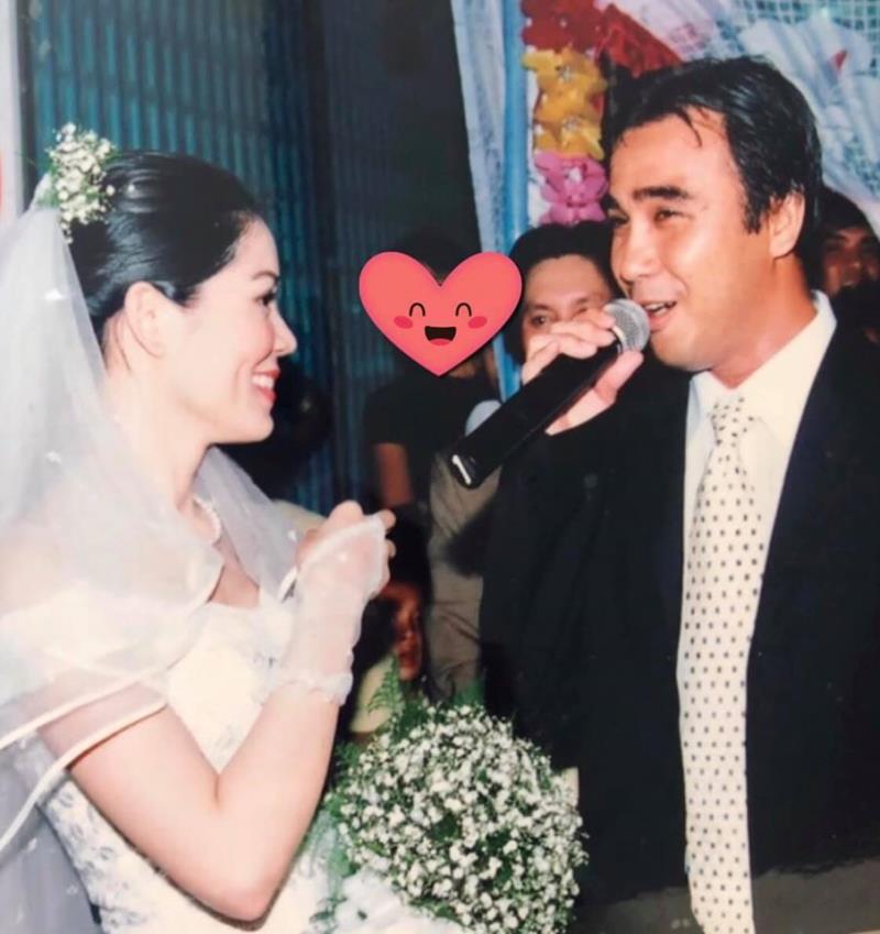 Vợ MC Quyền Linh chia sẻ kỷ niệm khó quên trong ngày cưới - Ảnh 1.