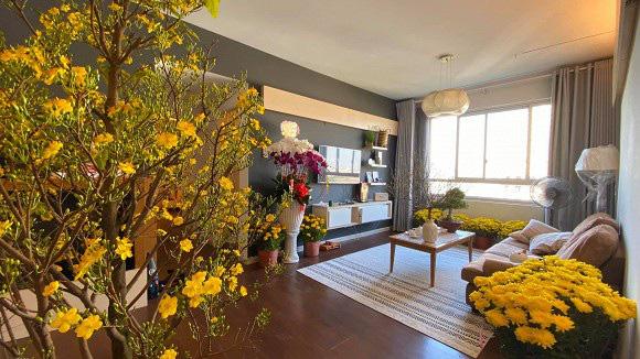 Không gian tổ ấm mới ngập tràn sắc hoa đón Tết của hoa hậu H'Hen Niê - Ảnh 7.