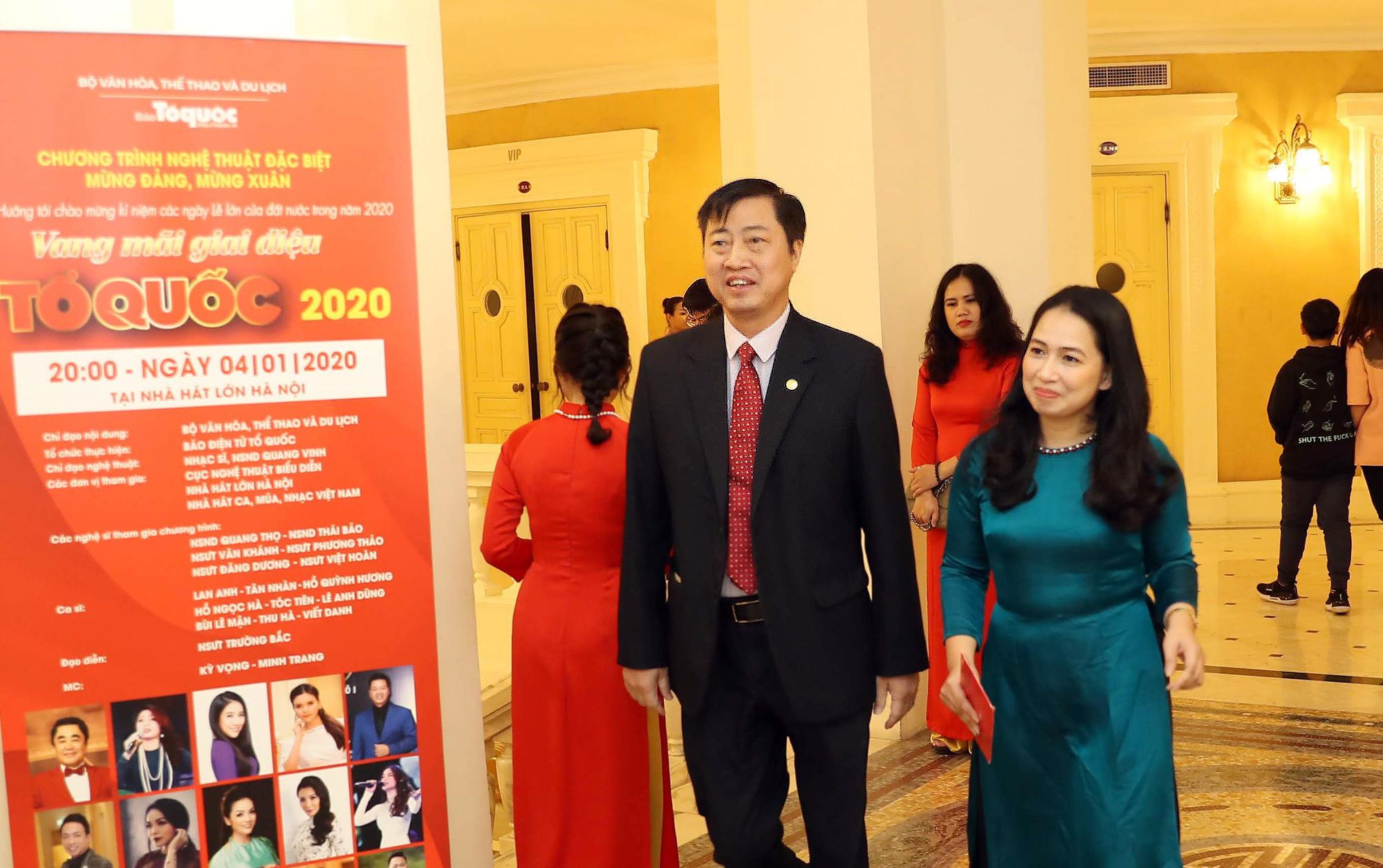 """Những vị khách đặc biệt của """"Vang mãi giai điệu Tổ Quốc 2020"""" chào đón thập niên mới, vận hội mới của dân tộc - Ảnh 7."""