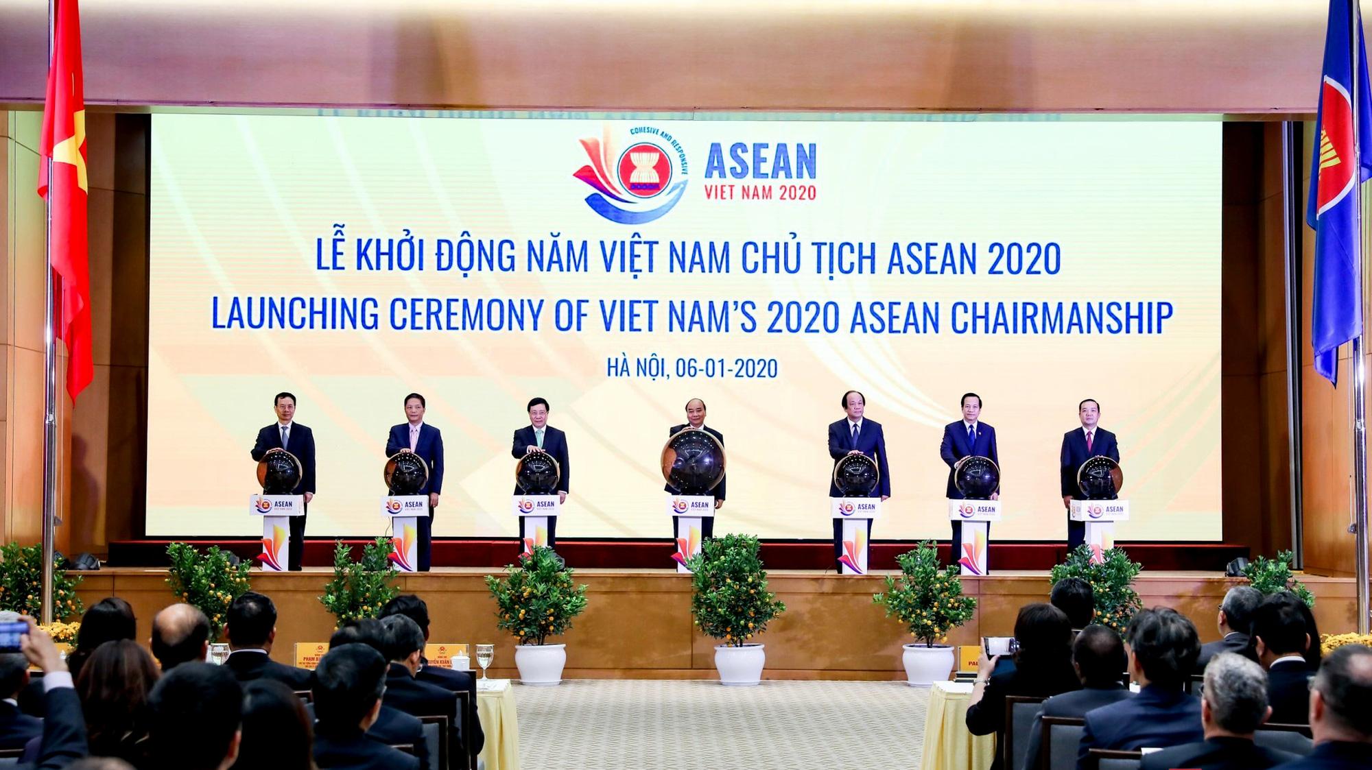 Lễ Khởi động Năm Chủ tịch ASEAN 2020 - Ảnh 1.