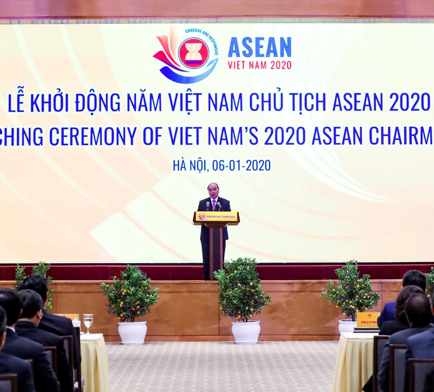 Lễ Khởi động Năm Chủ tịch ASEAN 2020 - Ảnh 2.