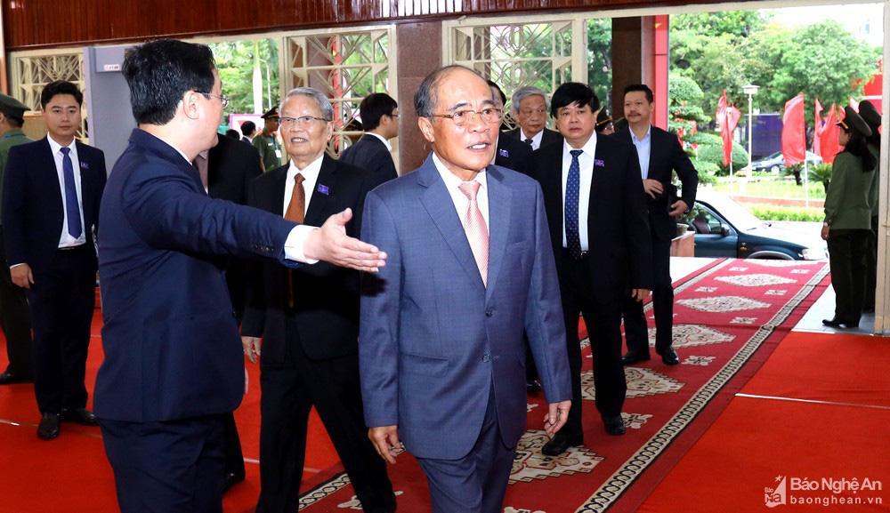 Thủ tướng Nguyễn Xuân Phúc dự Đại hội Đảng bộ tỉnh Nghệ An - Ảnh 5.