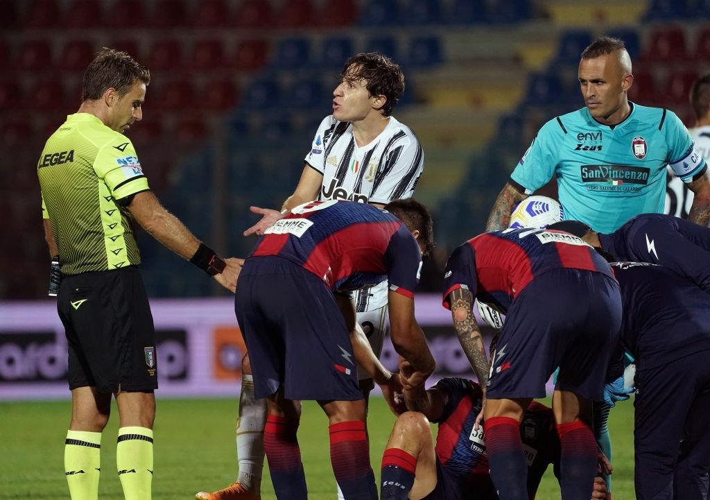 Vắng Ronaldo và bị đuổi người, Juventus nhọc nhằn giành 1 điểm - Ảnh 4.