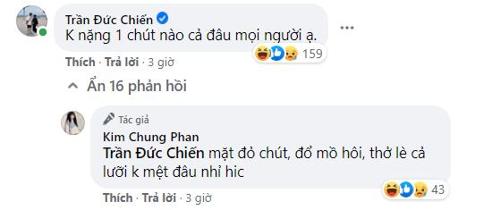 """ADC bắt trend vác người yêu cực ngầu, anh còn khéo léo khen Kim Chung: """"Không nặng chút nào đâu"""" - Ảnh 3."""