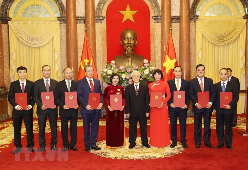 Tổng Bí thư, Chủ tịch nước Nguyễn Phú Trọng tiếp các Đại sứ, Tổng Lãnh sự Việt Nam ở nước ngoài - Ảnh 1.