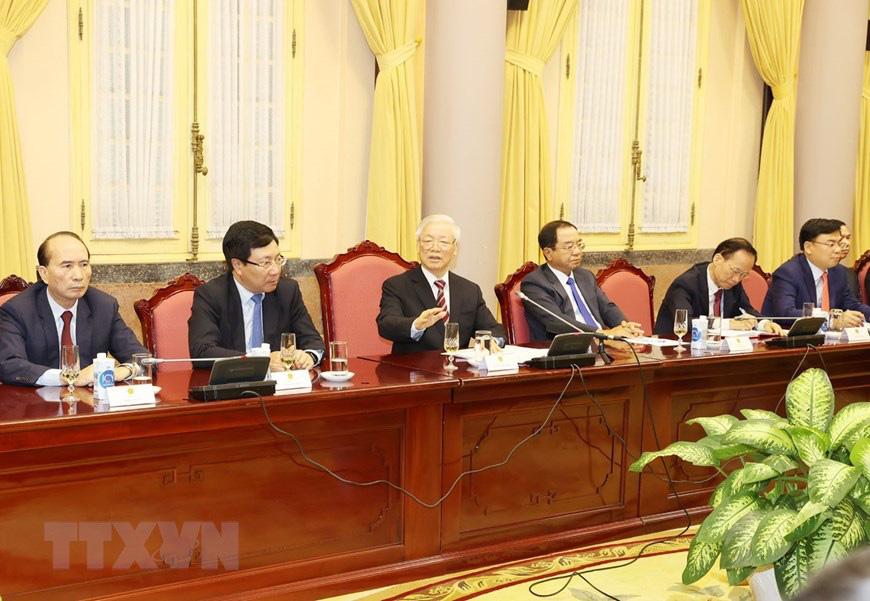 Tổng Bí thư, Chủ tịch nước Nguyễn Phú Trọng tiếp các Đại sứ, Tổng Lãnh sự Việt Nam ở nước ngoài - Ảnh 2.