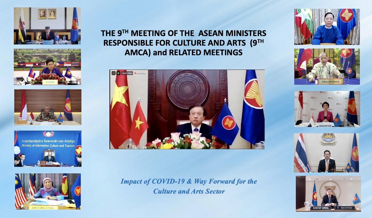 Hội nghị Bộ trưởng phụ trách Văn hóa nghệ thuật ASEAN lần thứ 9 - Ảnh 2.