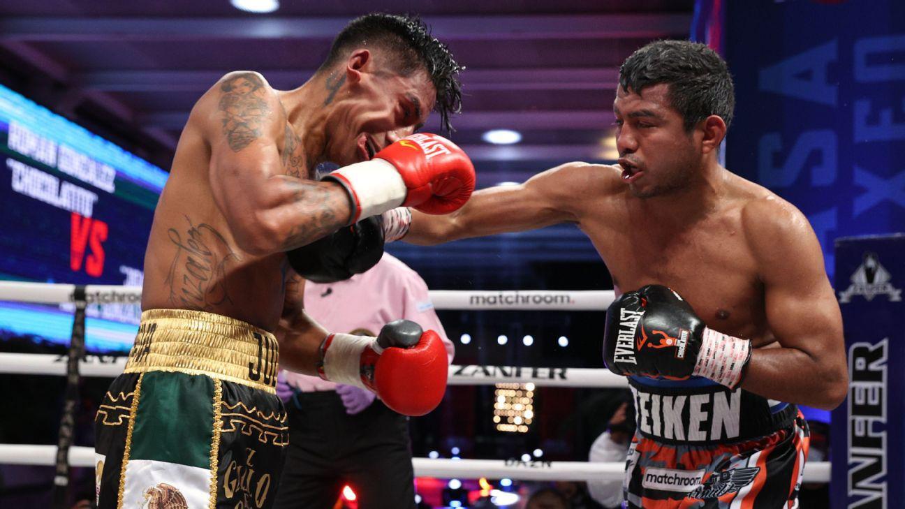 Estrada vượt khó hạ gục Cuadras, nghẹt thở bảo vệ thành công đai vô địch thế giới - Ảnh 3.