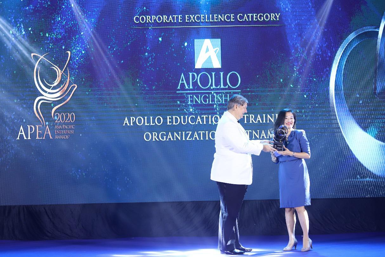Apollo English thắng giải doanh nghiệp xuất sắc châu Á Thái Bình Dương - APEA 2020 - Ảnh 2.