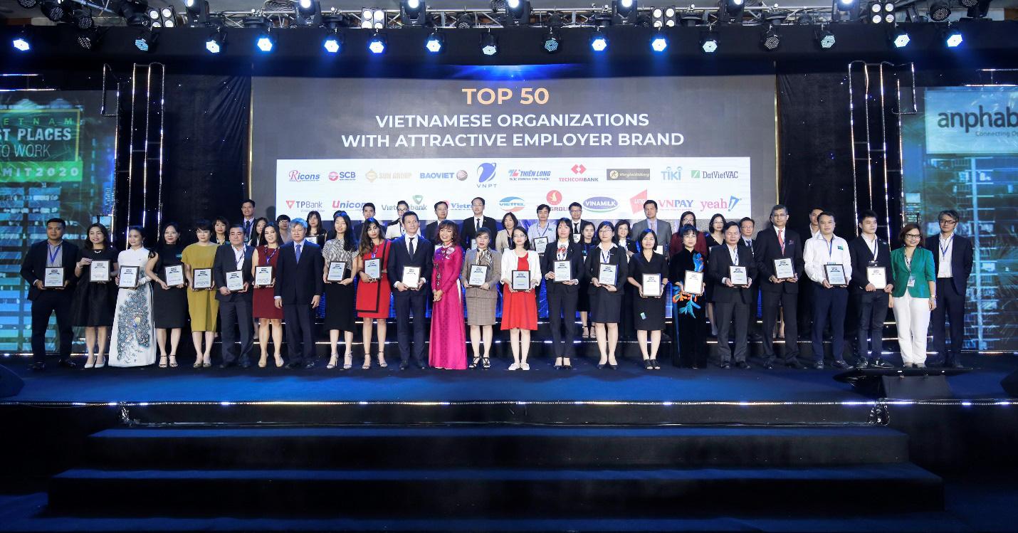 SCB là một trong 10 ngân hàng Việt có môi trường làm việc tốt nhất do Anphabe bình chọn - Ảnh 1.