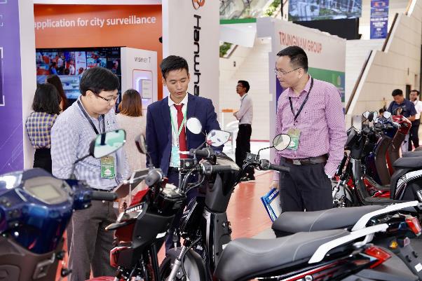 Xe máy điện VinFast gây chú ý tại Diễn đàn cao cấp Đô thị thông minh ASEAN 2020 - Ảnh 8.