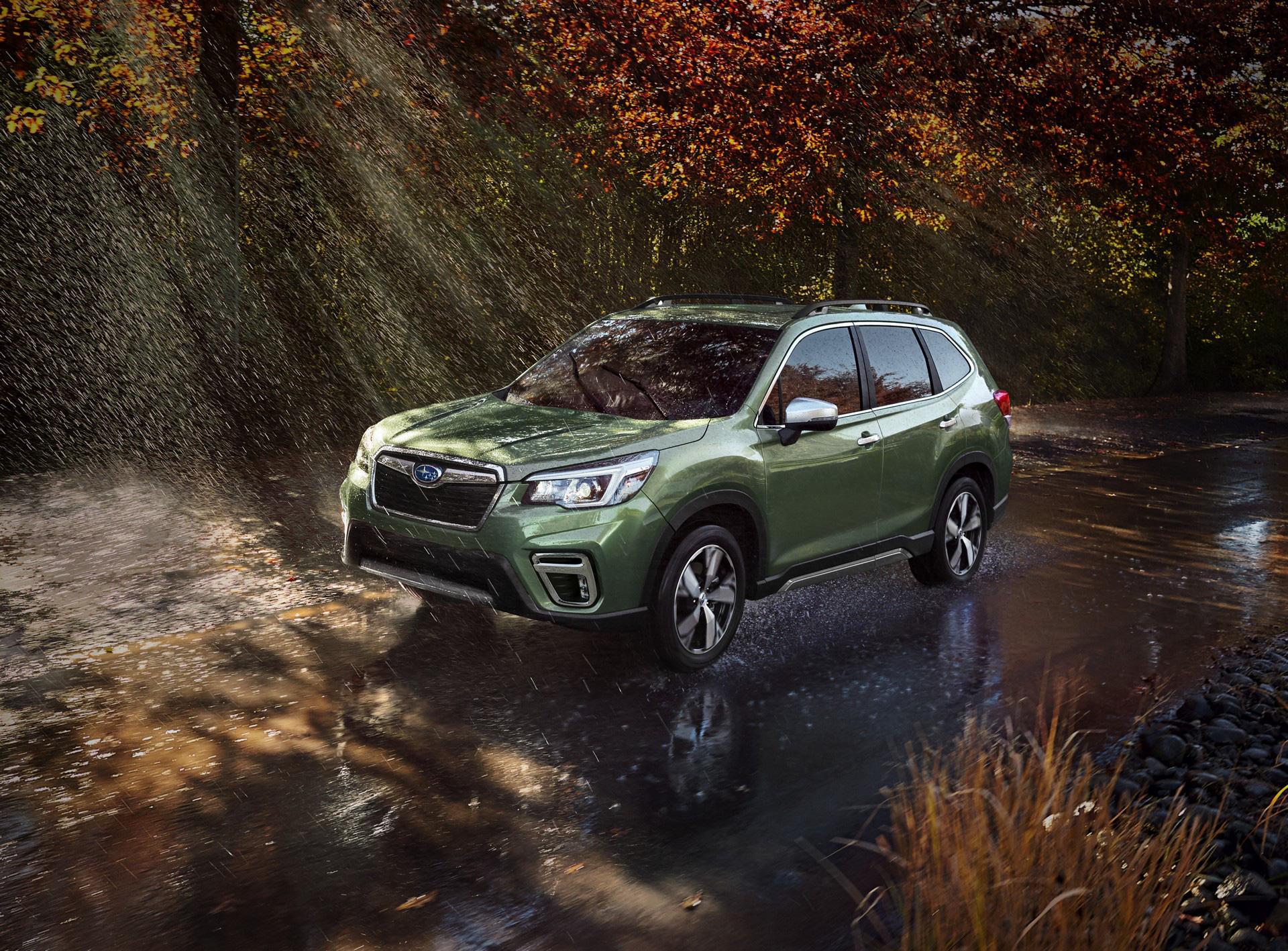 Subaru Forester thêm động cơ tăng áp, đe dọa Honda CR-V - Ảnh 1.