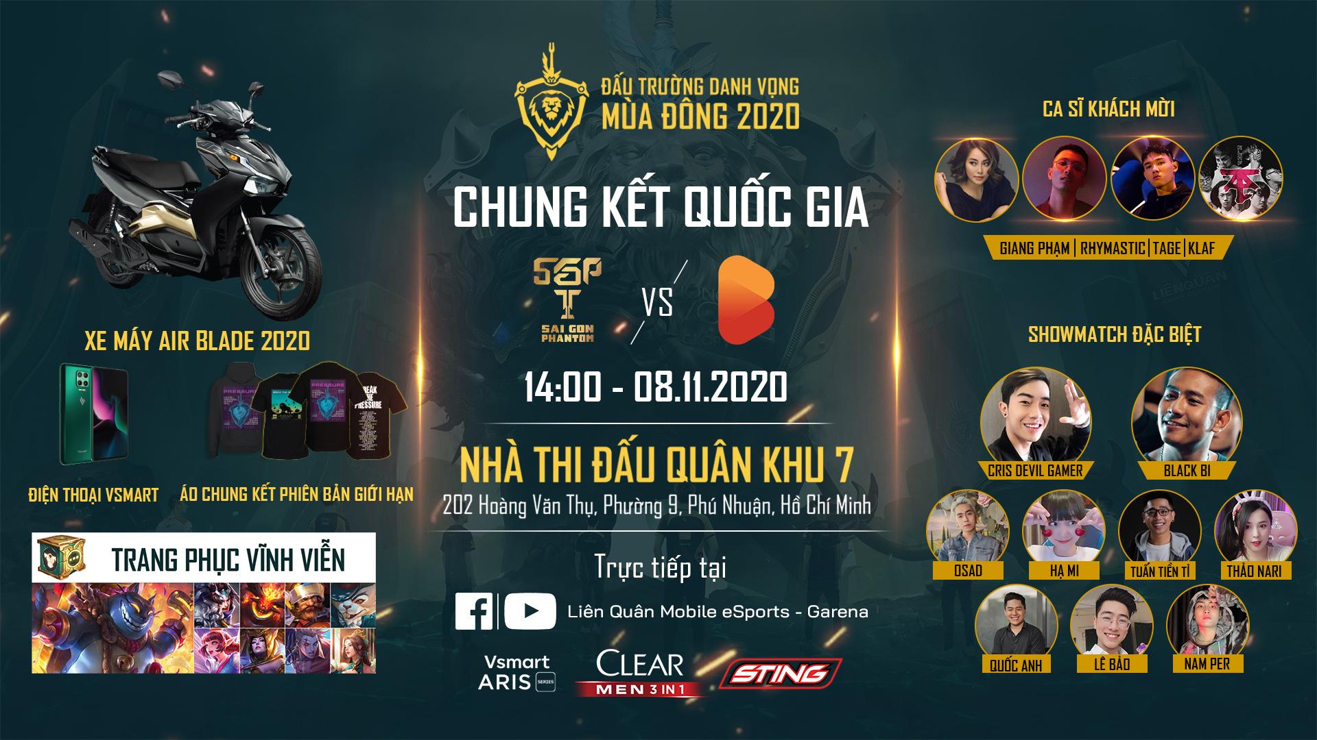 Chung kết ĐTDV mùa Đông 2020 quy tụ dàn sao Rap Việt đình đám, bất ngờ nhất là giá vé rẻ đến ngỡ ngàng - Ảnh 1.