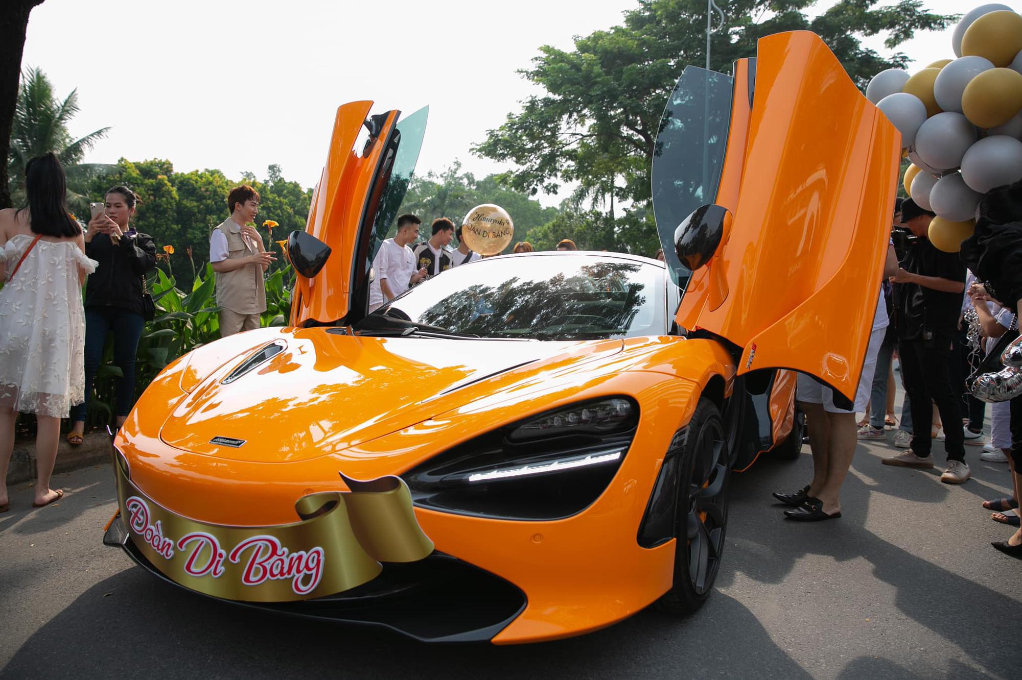 Nữ ca sĩ Đoàn Di Băng được chồng tặng hẳn siêu xe McLaren 720S Spider, không quên đề cập tới chuyện thiện nguyện tại thời điểm này - Ảnh 5.