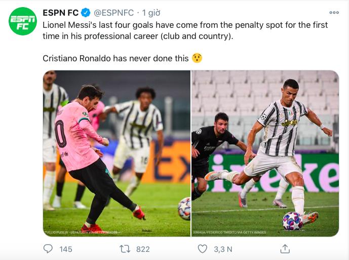 Bàn thắng vào lưới Juve giúp Messi lập thành tích chưa từng có trong sự nghiệp - Ảnh 1.