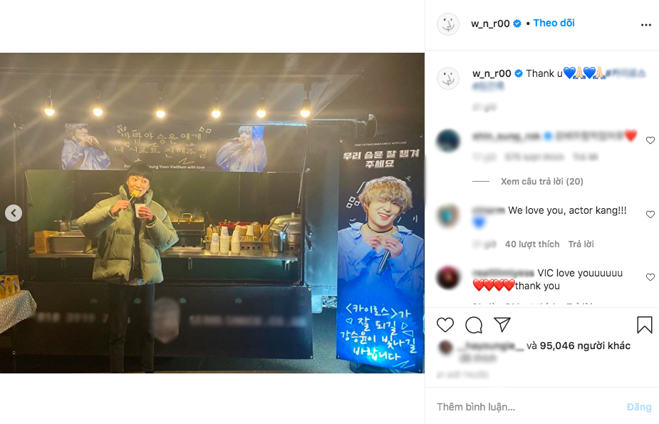 """V-netizens mới kết nạp thêm 1 """"con rể Việt Nam"""": Tự khoe ảnh thưởng thức đồ ăn do fan Việt tặng, cưng quá trời! - Ảnh 1."""