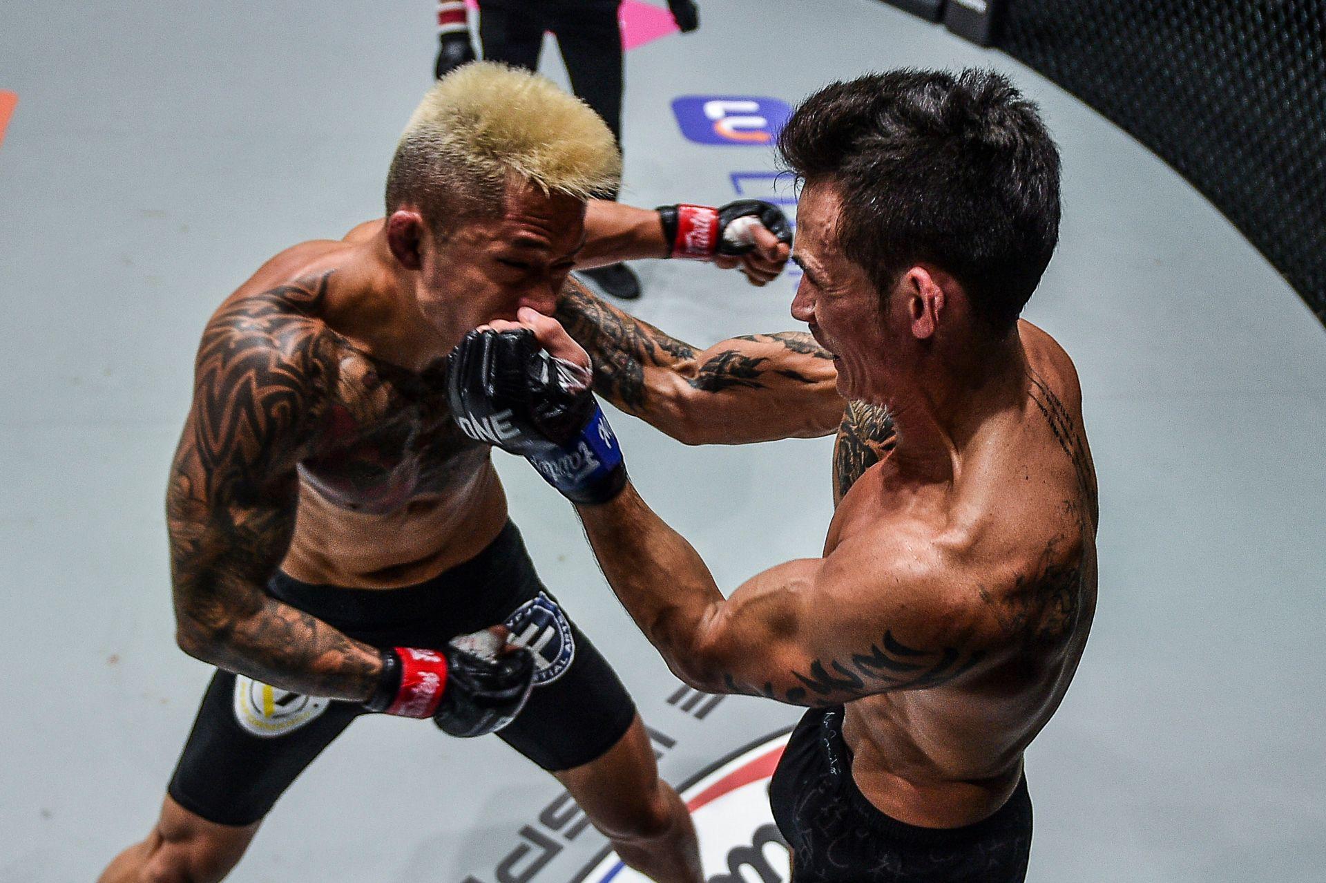 Chùm ảnh: Thành Lê hạ knock-out Martin Nguyễn, trở thành nhà vua mới tại hạng lông của ONE Championship - Ảnh 2.