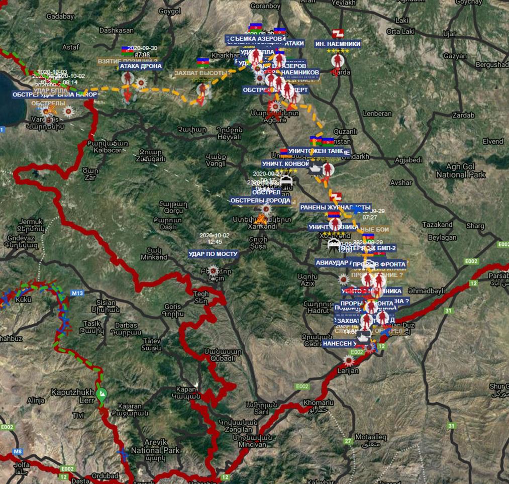 Chiến sự Armenia-Azerbaijan: Lửa cháy gần nhà Nga sẵn sàng ra tay, thiên hạ sẽ bái phục? - Ảnh 4.