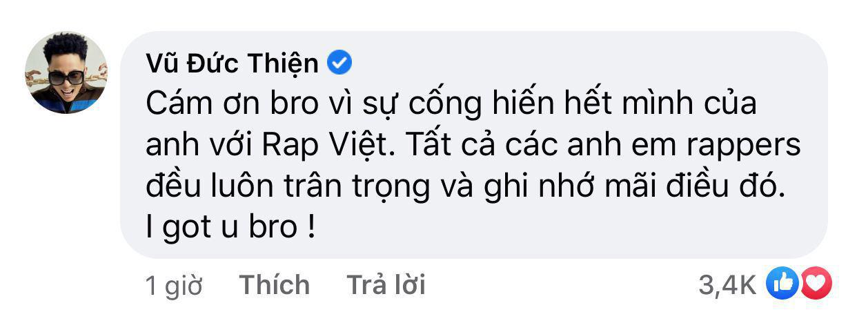 Binz, Rhymastic động viên Trấn Thành sau những ồn ào xoay quanh Rap Việt - Ảnh 6.