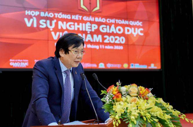 """50 tác phẩm đoạt Giải báo chí toàn quốc """"Vì sự nghiệp Giáo dục Việt Nam"""" 2020 - Ảnh 1."""