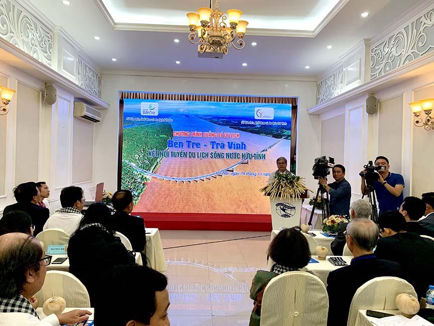Khai mạc quảng bá du lịch Bến Tre – Trà Vinh tại Hà Nội  - Ảnh 1.