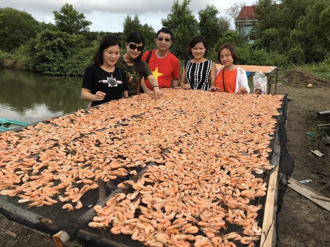 (mai) Nghề làm tôm khô truyền thống ở Cà Mau - Ảnh 2.