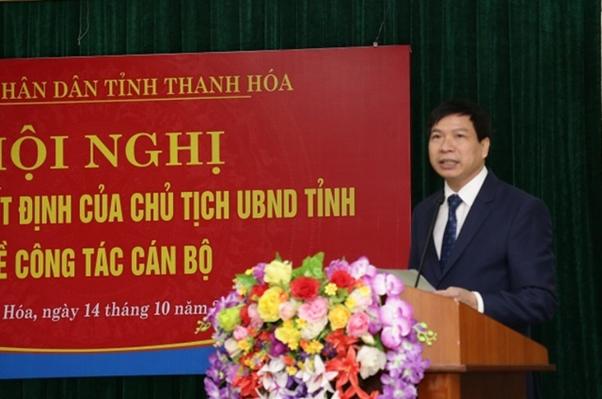 Bổ nhiệm Giám đốc Sở Giáo dục và Đào tạo tỉnh Thanh Hoá - Ảnh 1.