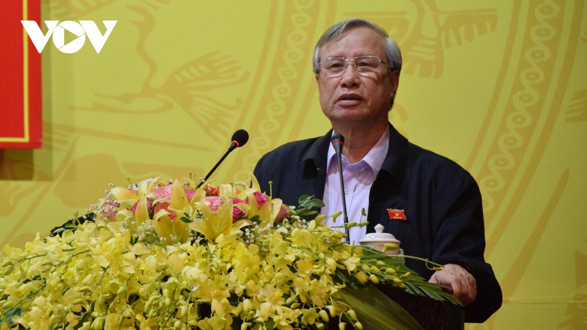 Thường trực Ban Bí thư Trần Quốc Vượng tiếp xúc cử tri tỉnh Yên Bái - Ảnh 2.