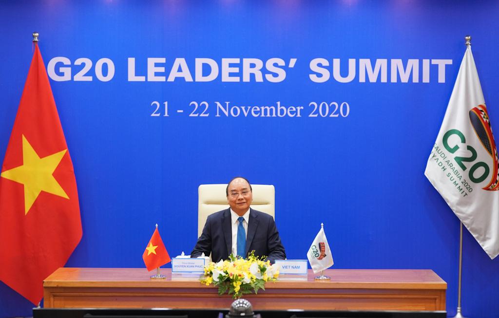 Thủ tướng nêu vấn đề hợp tác về vacine COVID-19 tại Hội nghị G20 - Ảnh 1.
