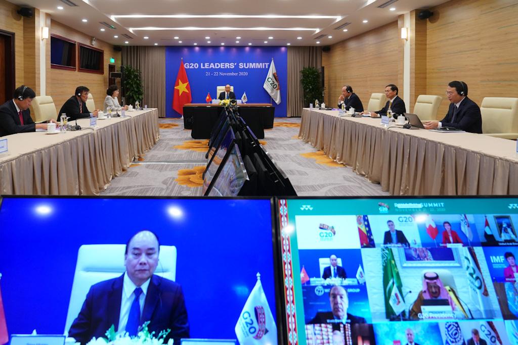 Thủ tướng nêu vấn đề hợp tác về vacine COVID-19 tại Hội nghị G20 - Ảnh 2.