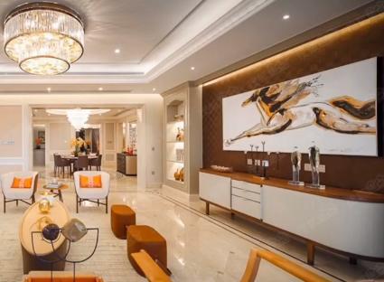 Hé lộ siêu căn hộ đắt đỏ trị giá 250 tỷ đồng của vợ chồng Đường Yên: Hàng xóm toàn đại gia, nội thất sang trọng và đẳng cấp - Ảnh 4.