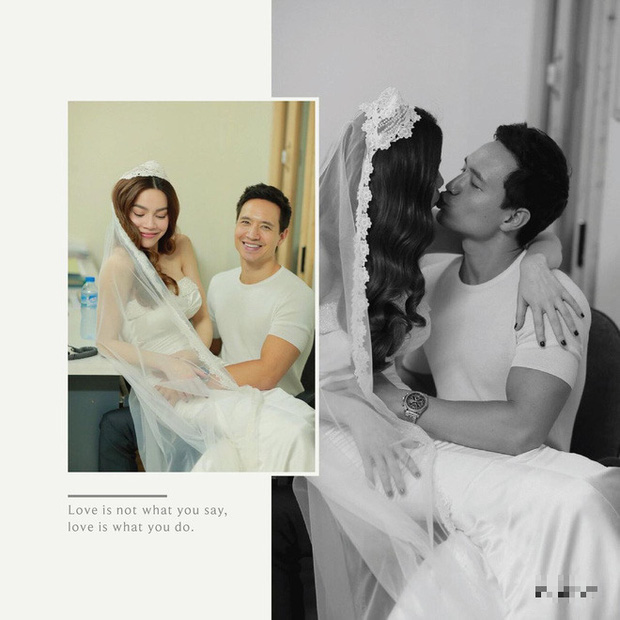 Sự thật về ảnh cưới Hồ Ngọc Hà - Kim Lý gân xôn xao - Ảnh 1.