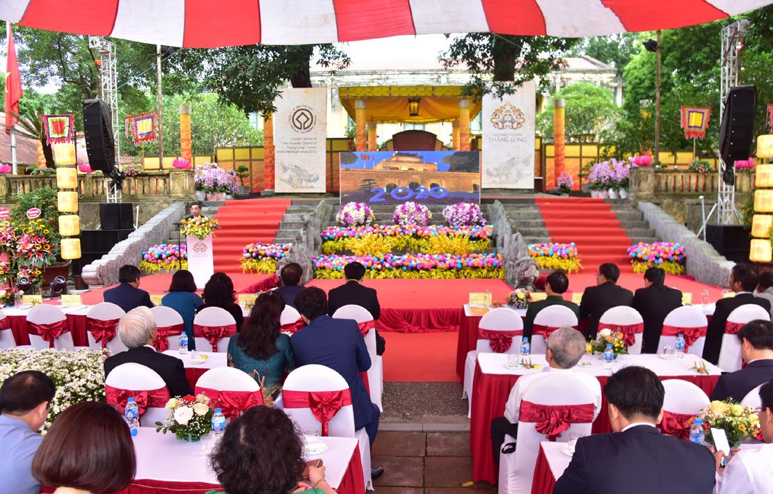 Kỷ niệm 10 năm Hoàng thành Thăng Long được UNESCO ghi danh: Góp phần tạo nên một diện mạo văn hóa đáng tự hào của Hà Nội - Ảnh 2.