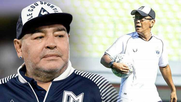 """Maradona từng làm cả đội Indonesia trố mắt, đứng im như tượng nhờ cú tâng bóng """"ma thuật - Ảnh 1."""