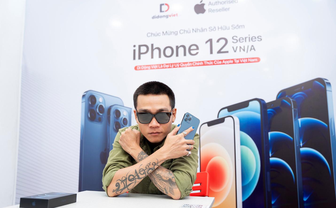 Wowy sở hữu iPhone 12 Pro Max VN/A trong ngày đầu mở bán tại Việt Nam - Ảnh 2.