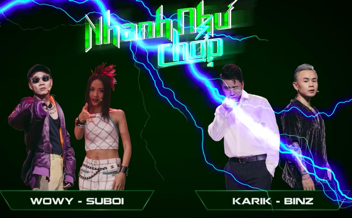 Đoán tên thật dàn thí sinh Rap Việt: Karik quên sạch tên cúng cơm của GDucky - MCK, Binz nhầm luôn họ của 16 Typh - Ảnh 1.