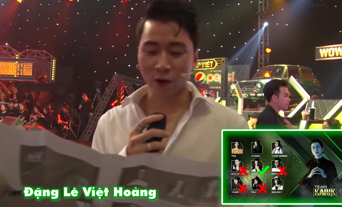 Đoán tên thật dàn thí sinh Rap Việt: Karik quên sạch tên cúng cơm của GDucky - MCK, Binz nhầm luôn họ của 16 Typh - Ảnh 5.