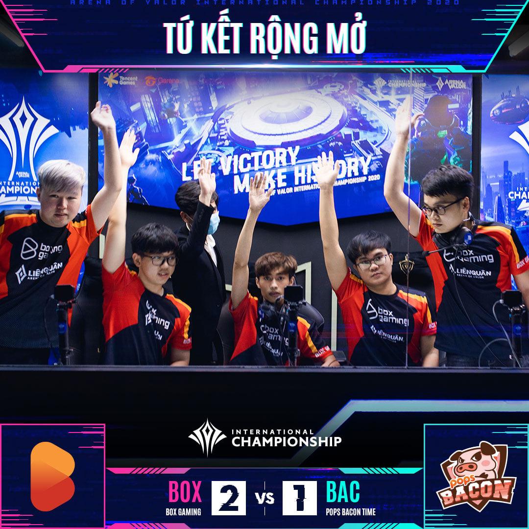 BOX Gaming chính thức giành vé vào playoffs AIC 2020, gặp ngay bại binh Team Flash - Ảnh 1.