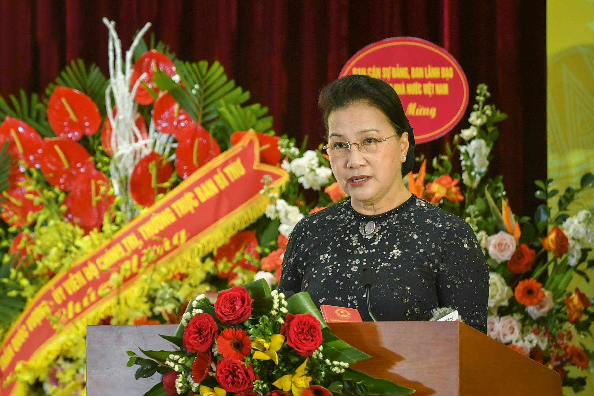 Chủ tịch Quốc hội dự Đại hội thi đua yêu nước ngành Ngân hàng - Ảnh 1.