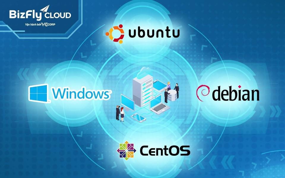 Bí quyết lựa chọn hệ điều hành phù hợp khi triển khai máy chủ ảo - Ảnh 1.