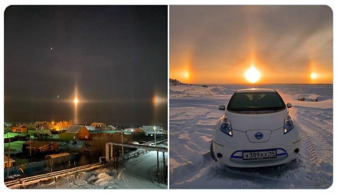 Loạt hình ảnh trong mùa đông khắc nghiệt, băng tuyết trắng xoá ở nước Nga chỉ nhìn thôi cũng đủ thấy rét run cầm cập - Ảnh 1.