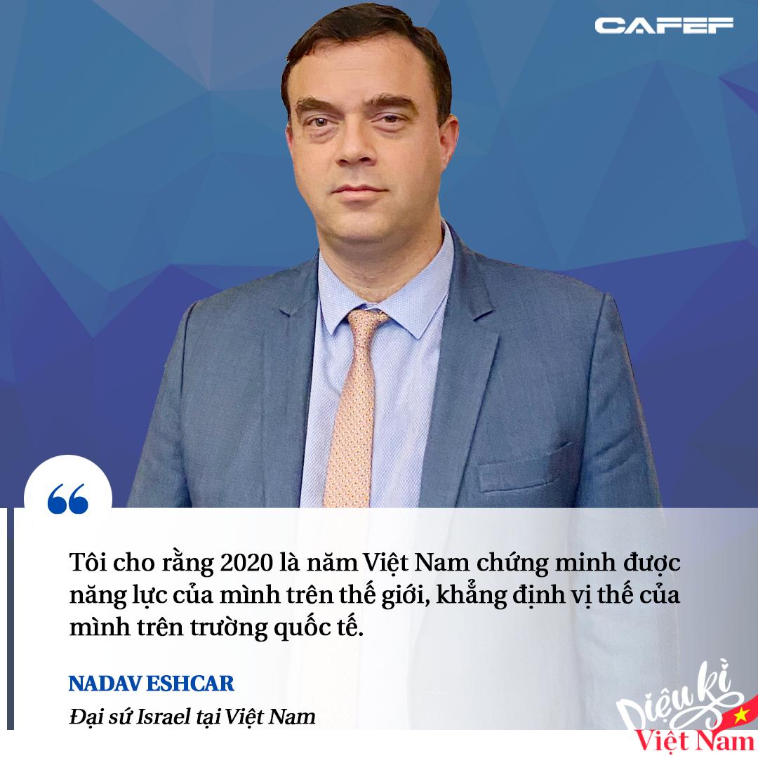 Đại sứ Israel: Việt Nam là một trong số ít quốc gia đạt điểm A trong bài kiểm tra thực tế Covid-19 - Ảnh 2.