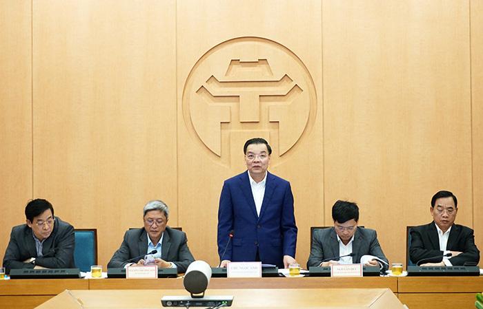 Chủ tịch HN: Nếu Hà Nội mà bung và toang, hứa với các đồng chí, tôi chịu trách nhiệm - Ảnh 1.