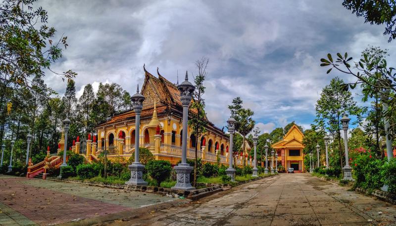 Bộ VHTTDL cho ý kiến về Dự án tu bổ, tôn tạo di tích chùa KomPong, tỉnh Trà Vinh - Ảnh 1.
