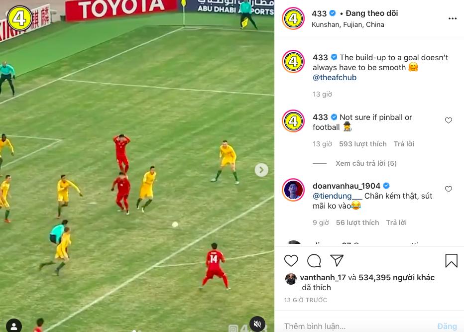 Tài khoản clip bóng đá số 1 thế giới lấy Quang Hải làm ví dụ cho bàn thắng vất vả - Ảnh 2.