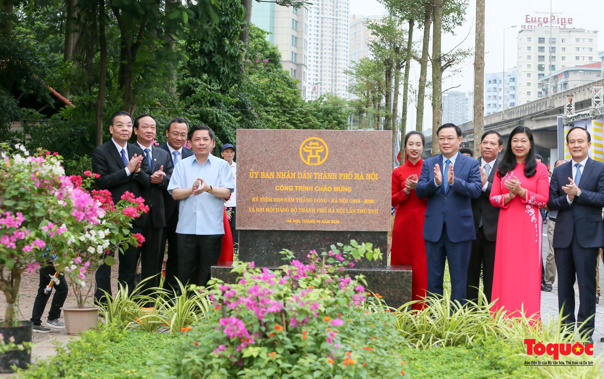 Dấu ấn những công trình giao thông tạo nên diện mạo mới cho Thủ đô Hà Nội năm 2020 - Ảnh 13.