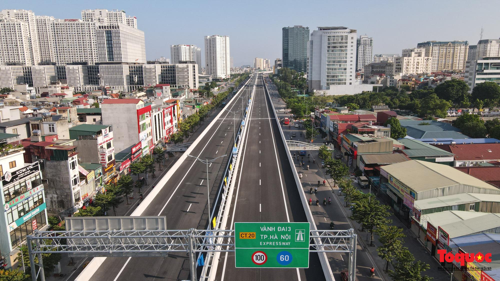 Dấu ấn những công trình giao thông tạo nên diện mạo mới cho Thủ đô Hà Nội năm 2020 - Ảnh 3.